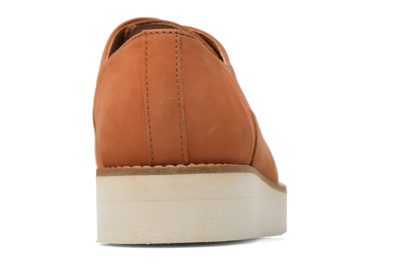 Zapatos con cordones Aldo Ocayria Marrón vista lateral derecha