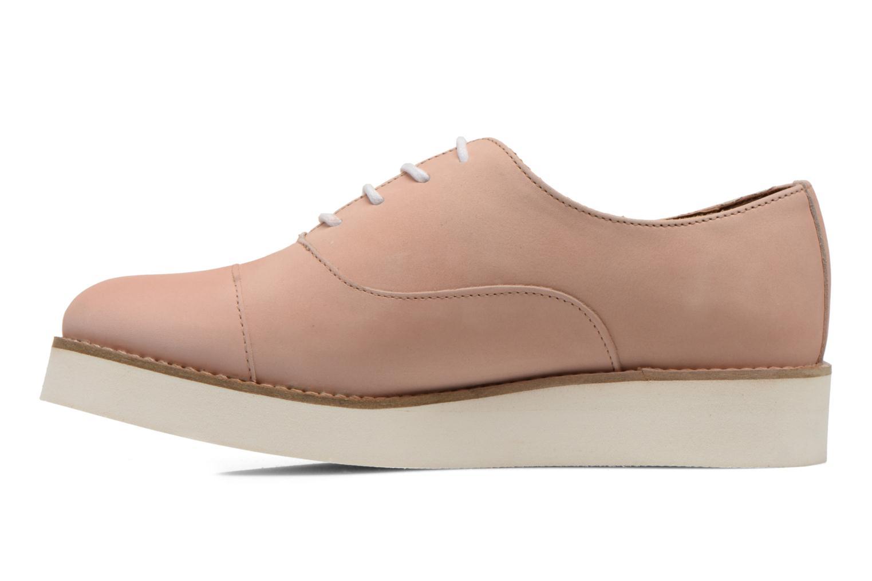Zapatos con cordones Aldo Ocayria Rosa vista de frente
