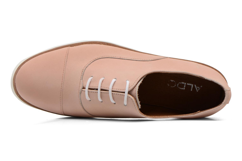 Zapatos con cordones Aldo Ocayria Rosa vista lateral izquierda