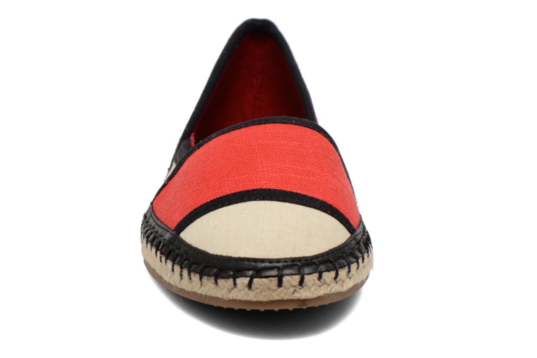 Espadrilles Aldo Shulkin Rouge vue portées chaussures