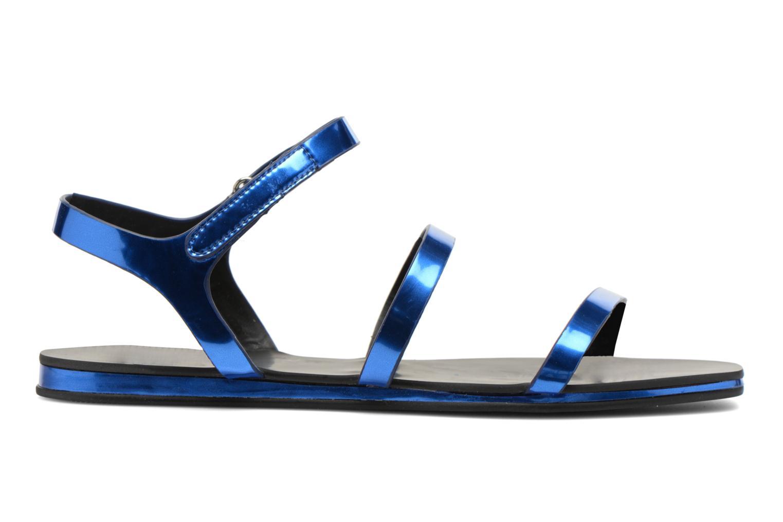 Sandales et nu-pieds Aldo Larieniel Bleu vue derrière