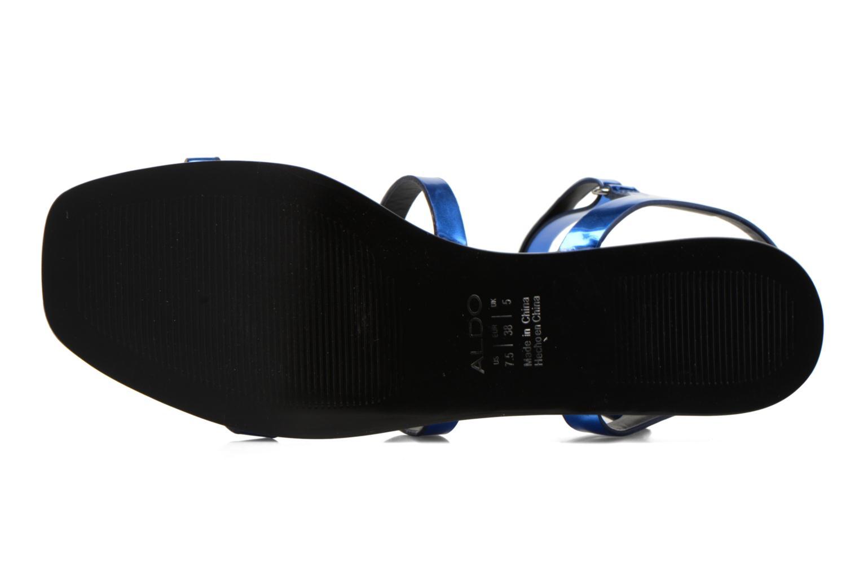 Sandales et nu-pieds Aldo Larieniel Bleu vue haut
