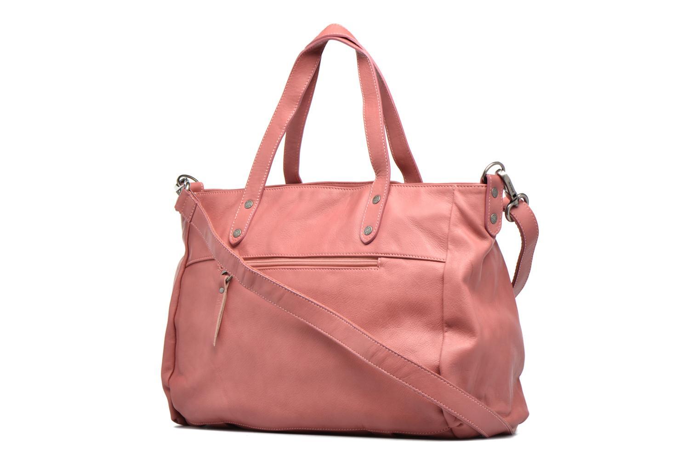 Handtaschen Sabrina Isabelle rosa ansicht von rechts