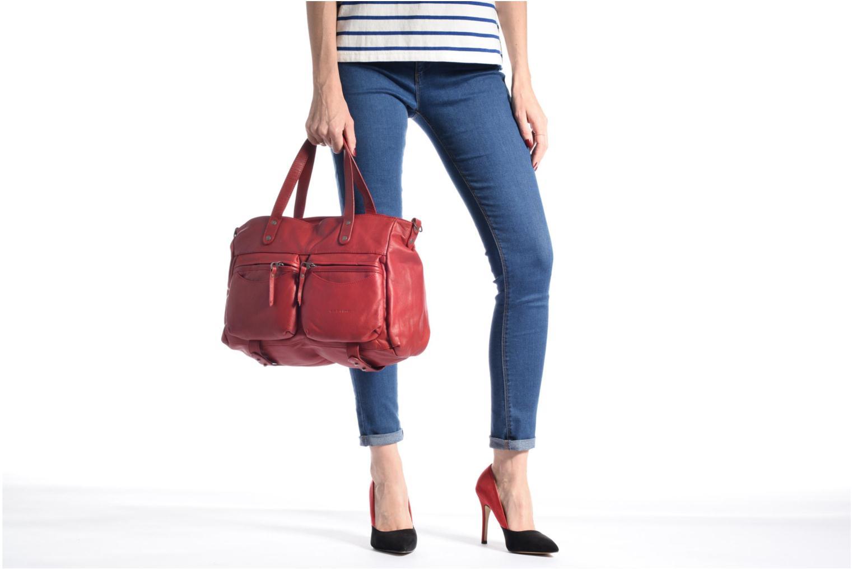 Handtaschen Sabrina Isabelle rosa ansicht von oben