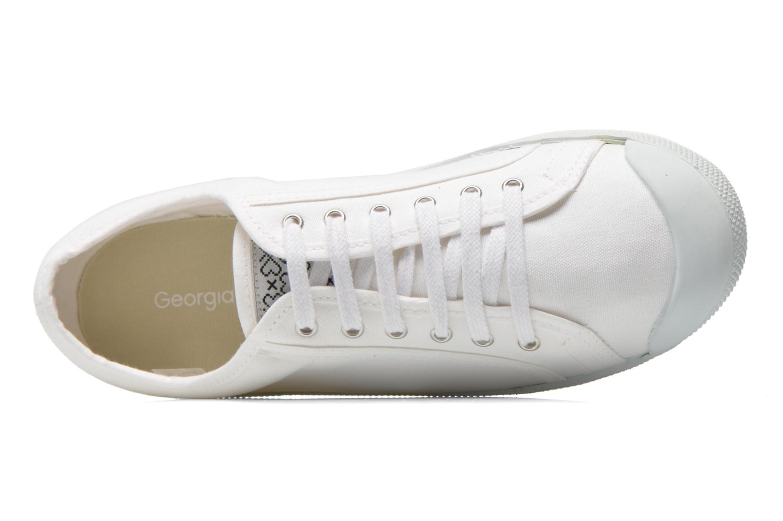 Trainers Georgia Rose Mamine White view from the left