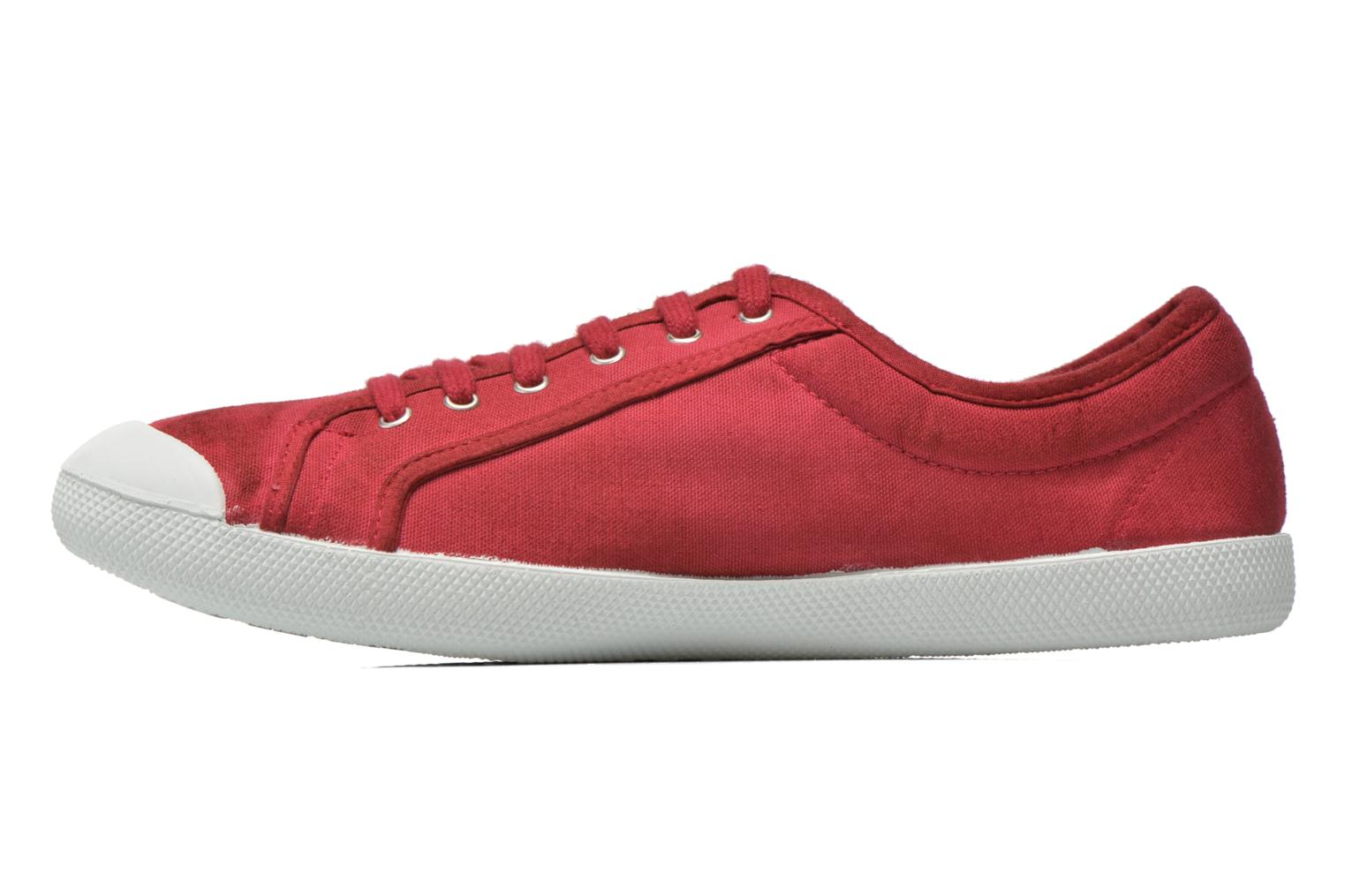 Trainers Georgia Rose Mamine Burgundy front view
