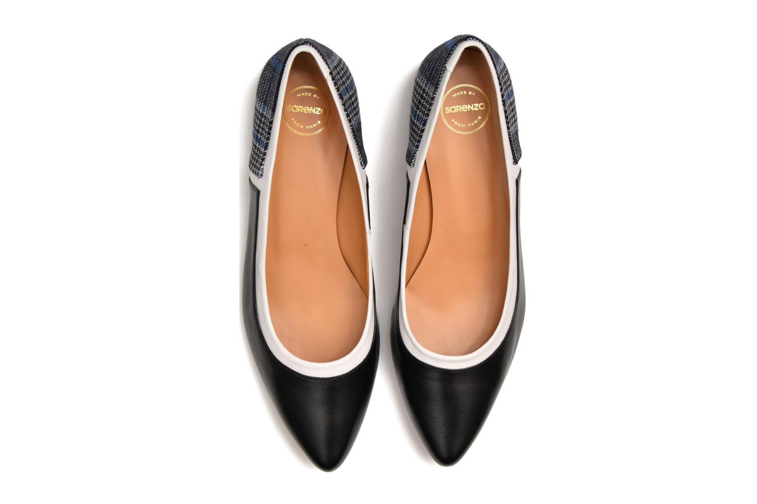 Ballet pumps Made by SARENZA West Mister #7 Black view from above