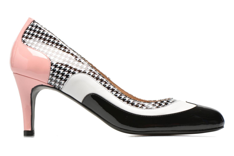 Notting Heels #14 Vernis noir + mestizo blanc + vernis PDP + vernis diorita