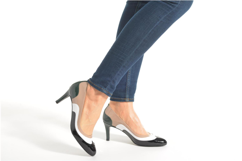 Escarpins Made by SARENZA Notting Heels #14 Multicolore vue bas / vue portée sac