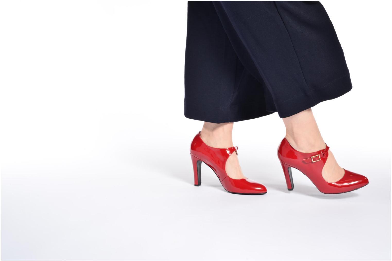 Escarpins Made by SARENZA Shoe Officer #3 Multicolore vue bas / vue portée sac