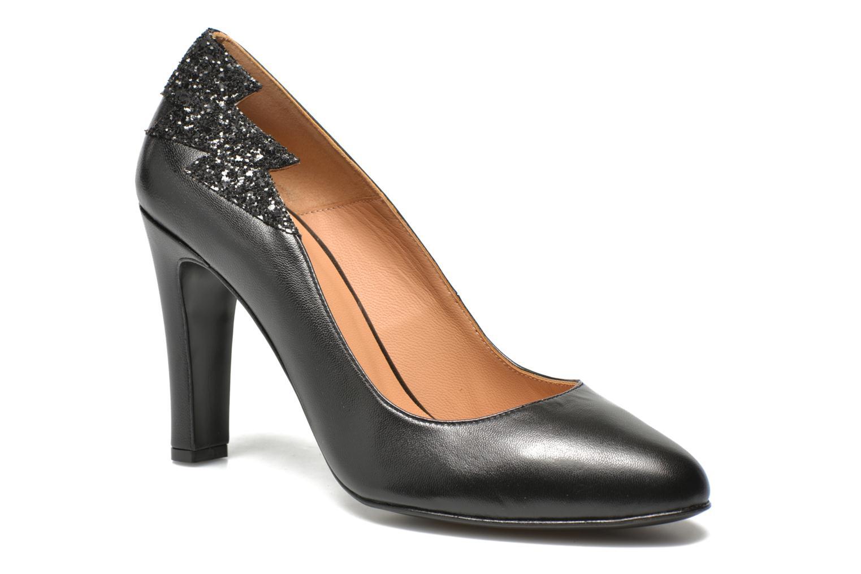 Glossy Cindy #13 Mestizo noir + paillettes noires