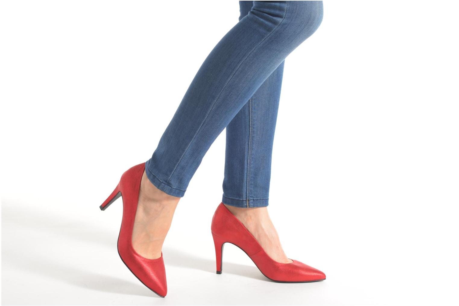 Pumps Made by SARENZA Glossy Cindy #4 Rood onder