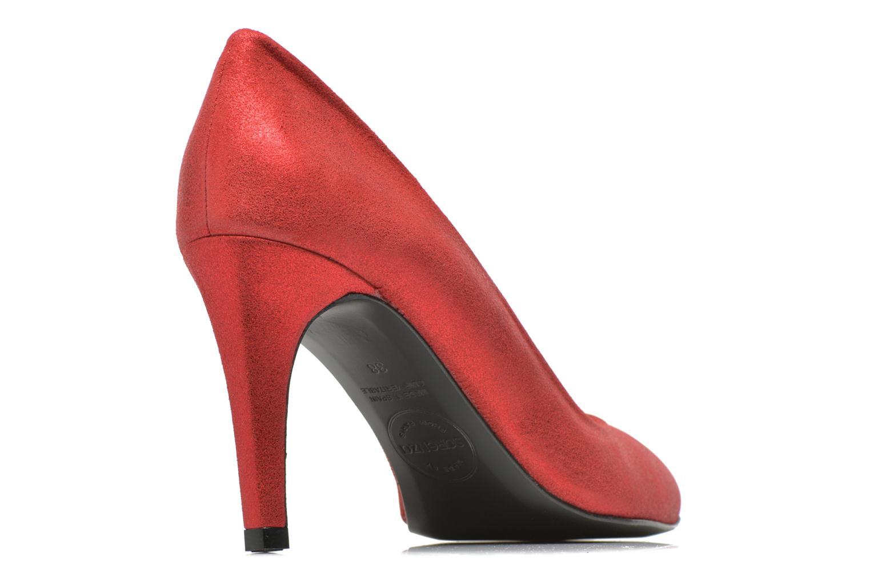 Décolleté Made by SARENZA Glossy Cindy #4 Rosso modello indossato