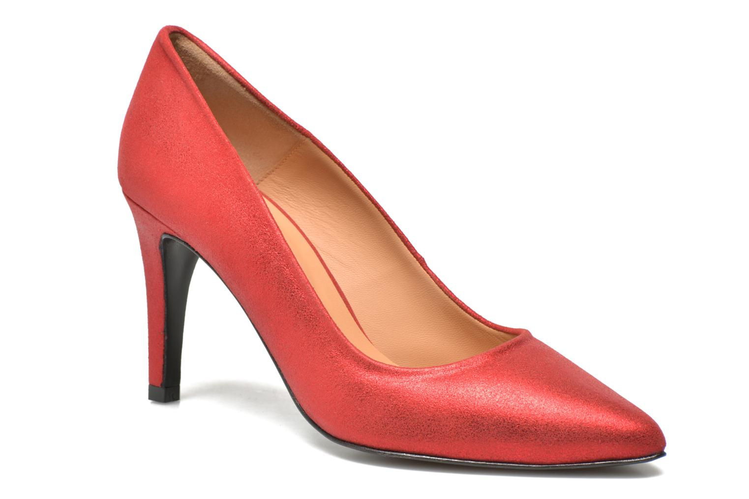 Pumps Made by SARENZA Glossy Cindy #4 Rood voorkant