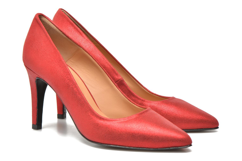 Glossy Cindy #4 Ante metal Rojo