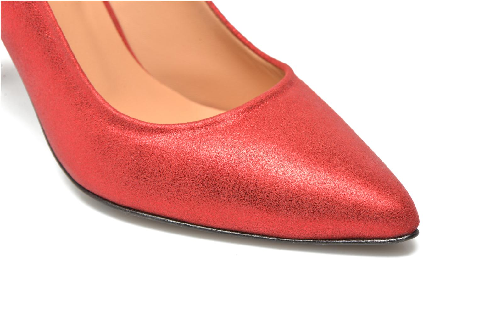 Pumps Made by SARENZA Glossy Cindy #4 Rood achterkant