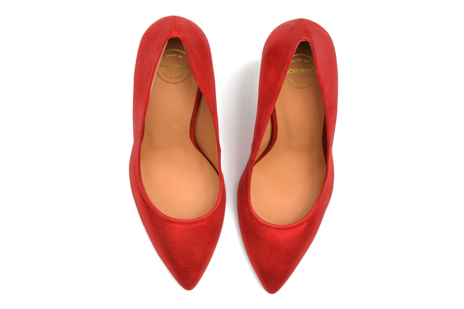 Pumps Made by SARENZA Glossy Cindy #4 Rood boven