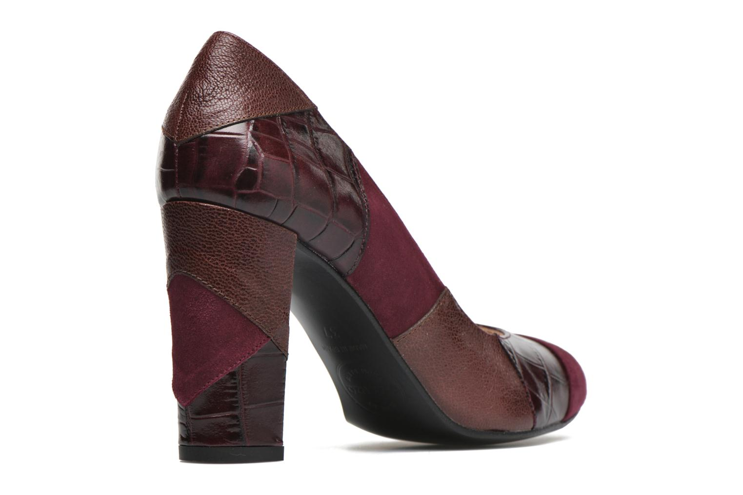High heels Made by SARENZA My Talon Is Rich #6 Burgundy front view