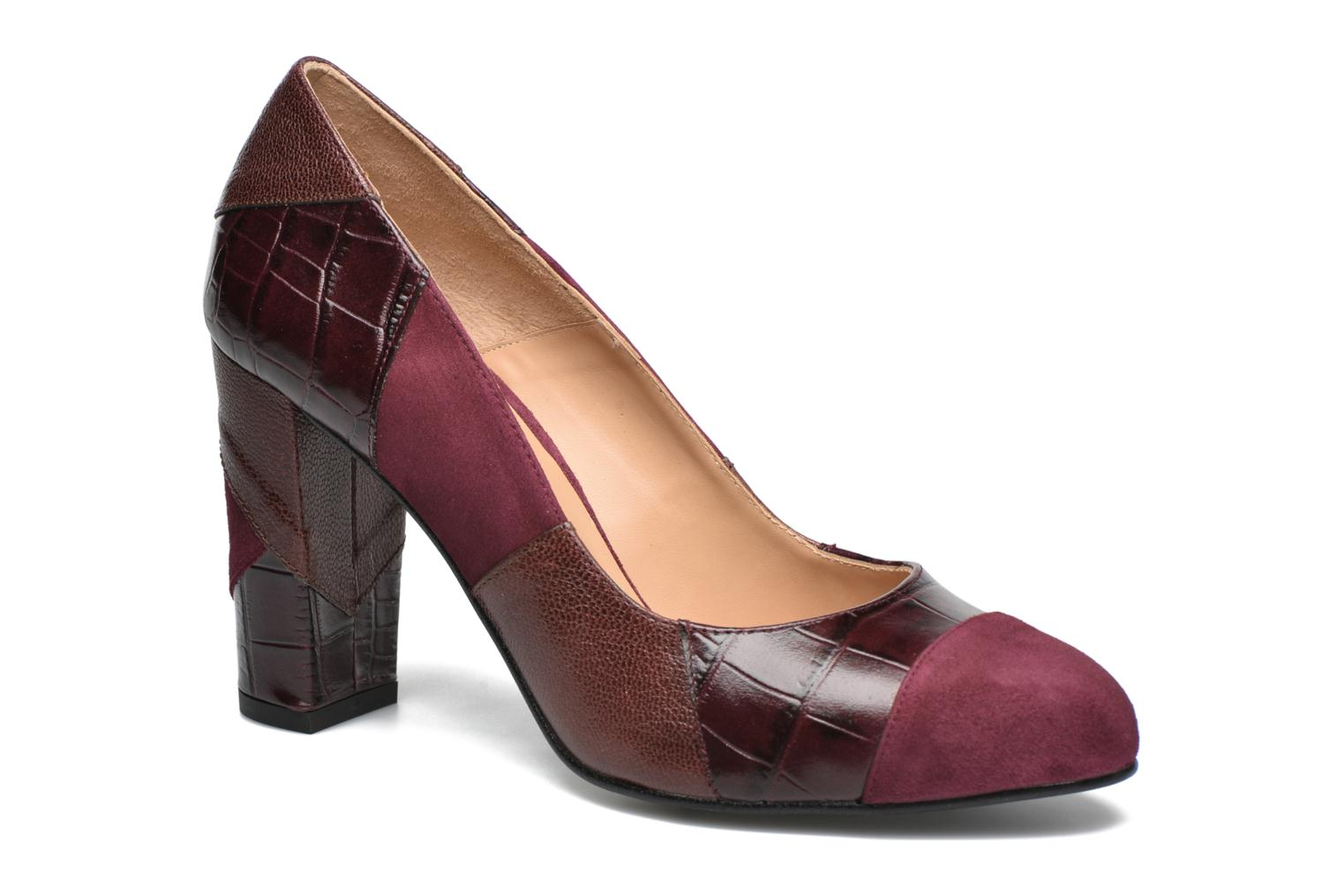 High heels Made by SARENZA My Talon Is Rich #6 Burgundy view from the right