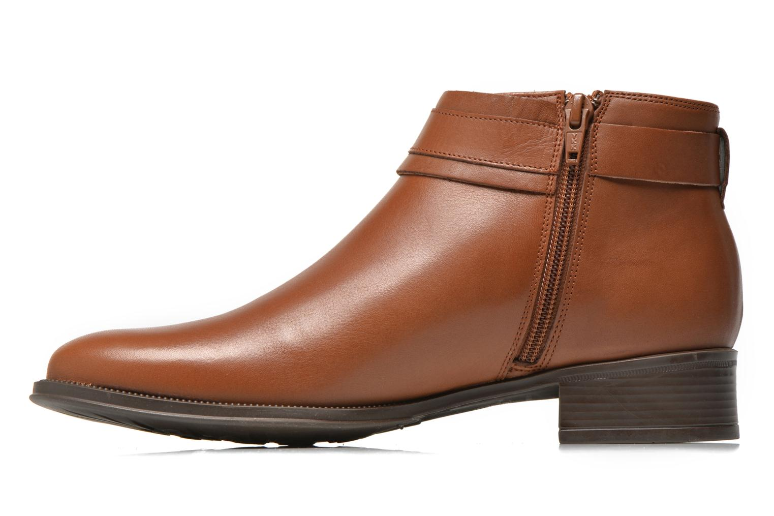Ankle boots Georgia Rose Eperdreau Brown front view