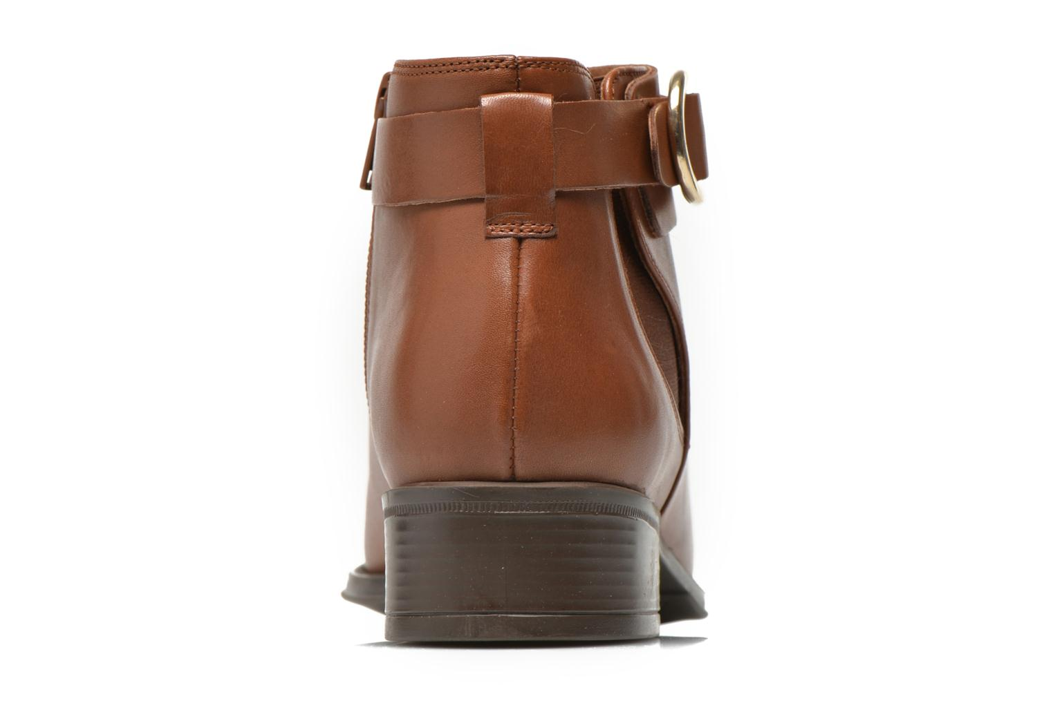 Ankle boots Georgia Rose Eperdreau Brown view from the right