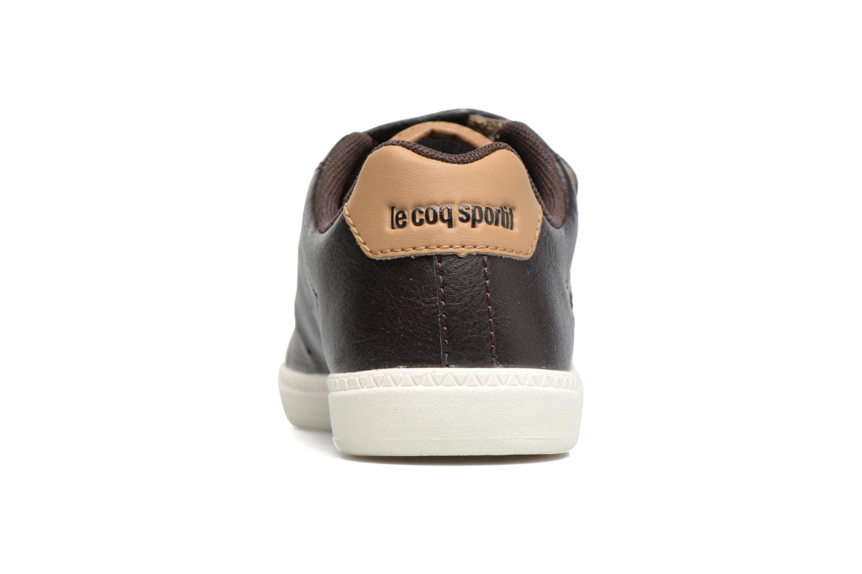 Baskets Le Coq Sportif Courtone Ps Noir vue droite