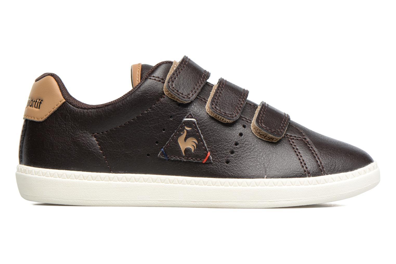 Sneakers Le Coq Sportif Courtone Ps Nero immagine posteriore