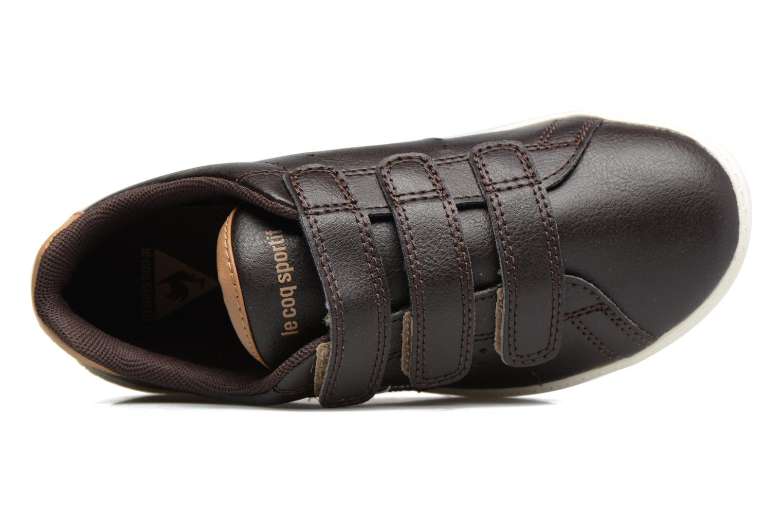 Sneakers Le Coq Sportif Courtone Ps Nero immagine sinistra