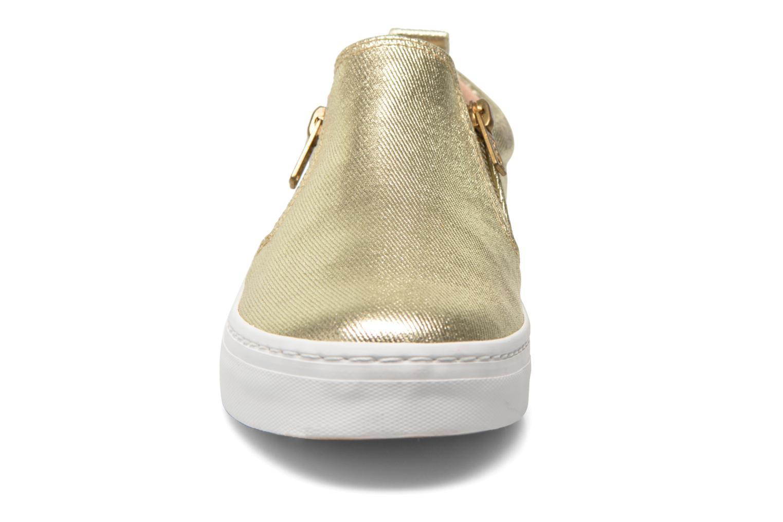 Sneaker Gioseppo Marsala gold/bronze schuhe getragen