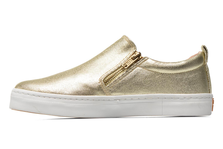 Sneaker Gioseppo Marsala gold/bronze ansicht von vorne