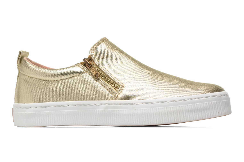 Sneaker Gioseppo Marsala gold/bronze ansicht von hinten