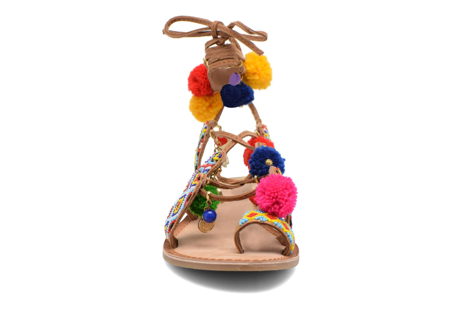 Sandals Gioseppo Omahas Multicolor model view