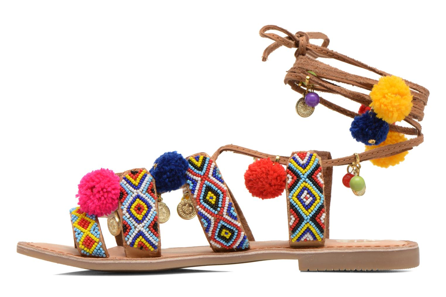Sandals Gioseppo Omahas Multicolor front view
