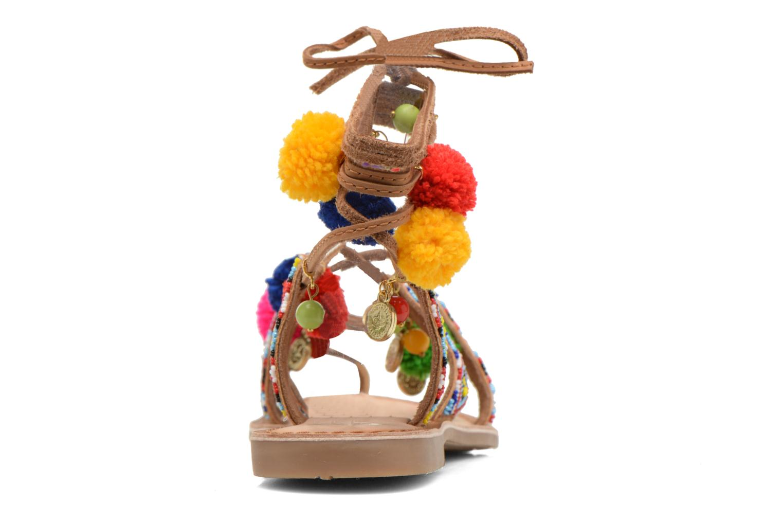 Sandales et nu-pieds Gioseppo Omahas Multicolore vue droite