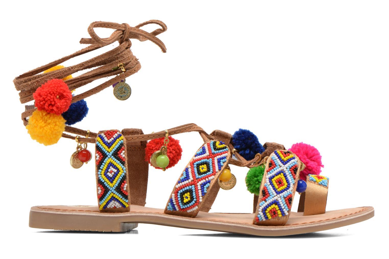 Sandales et nu-pieds Gioseppo Omahas Multicolore vue derrière