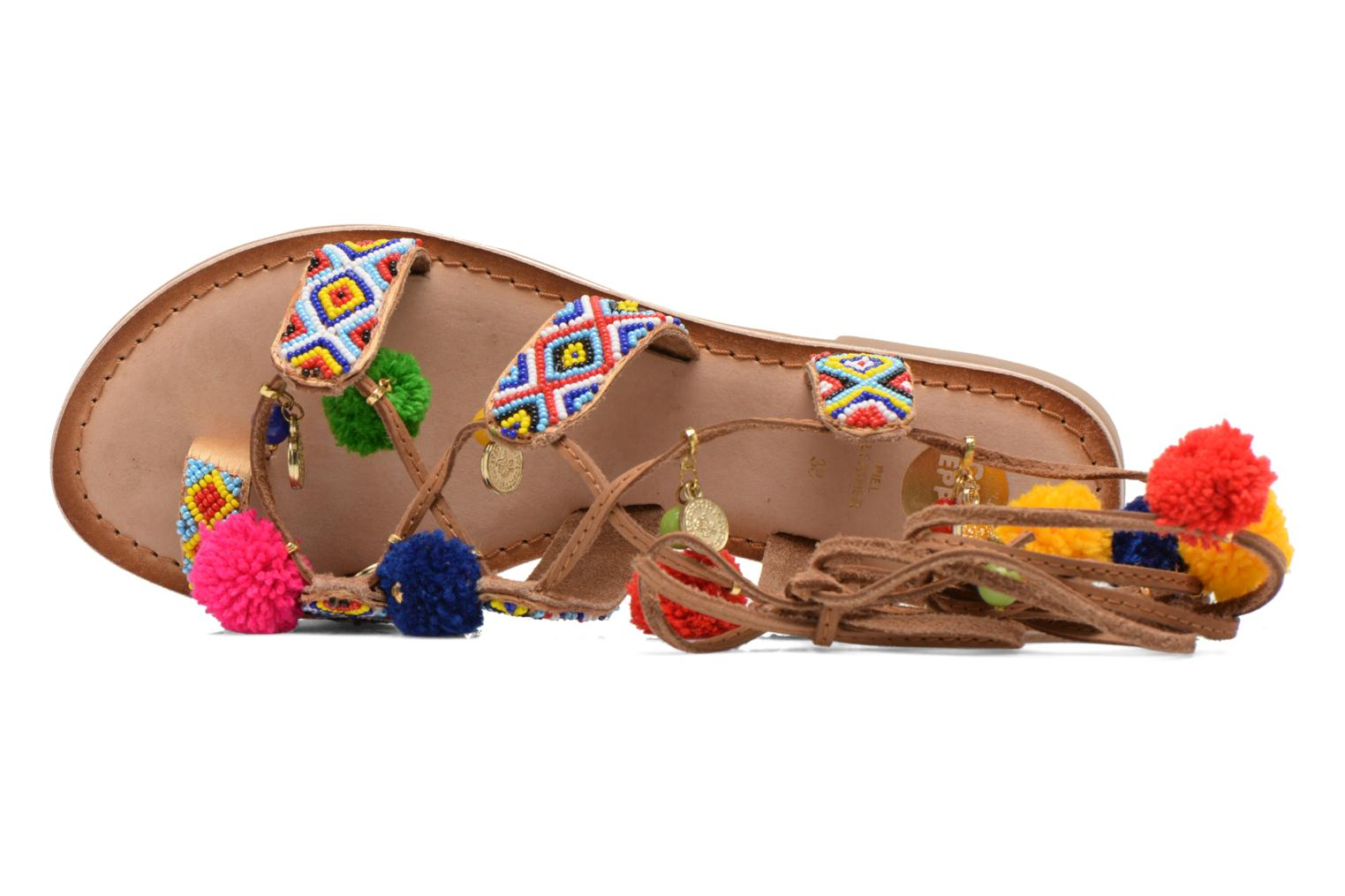 Sandals Gioseppo Omahas Multicolor view from the left