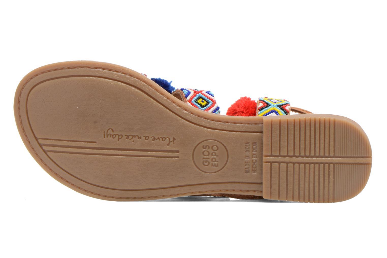 Sandales et nu-pieds Gioseppo Omahas Multicolore vue haut