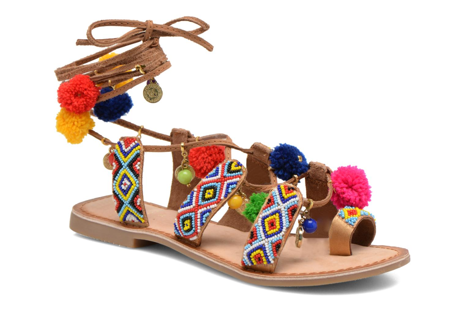 Sandals Gioseppo Omahas Multicolor detailed view/ Pair view