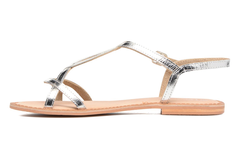 Sandales et nu-pieds Gioseppo Silva Argent vue face