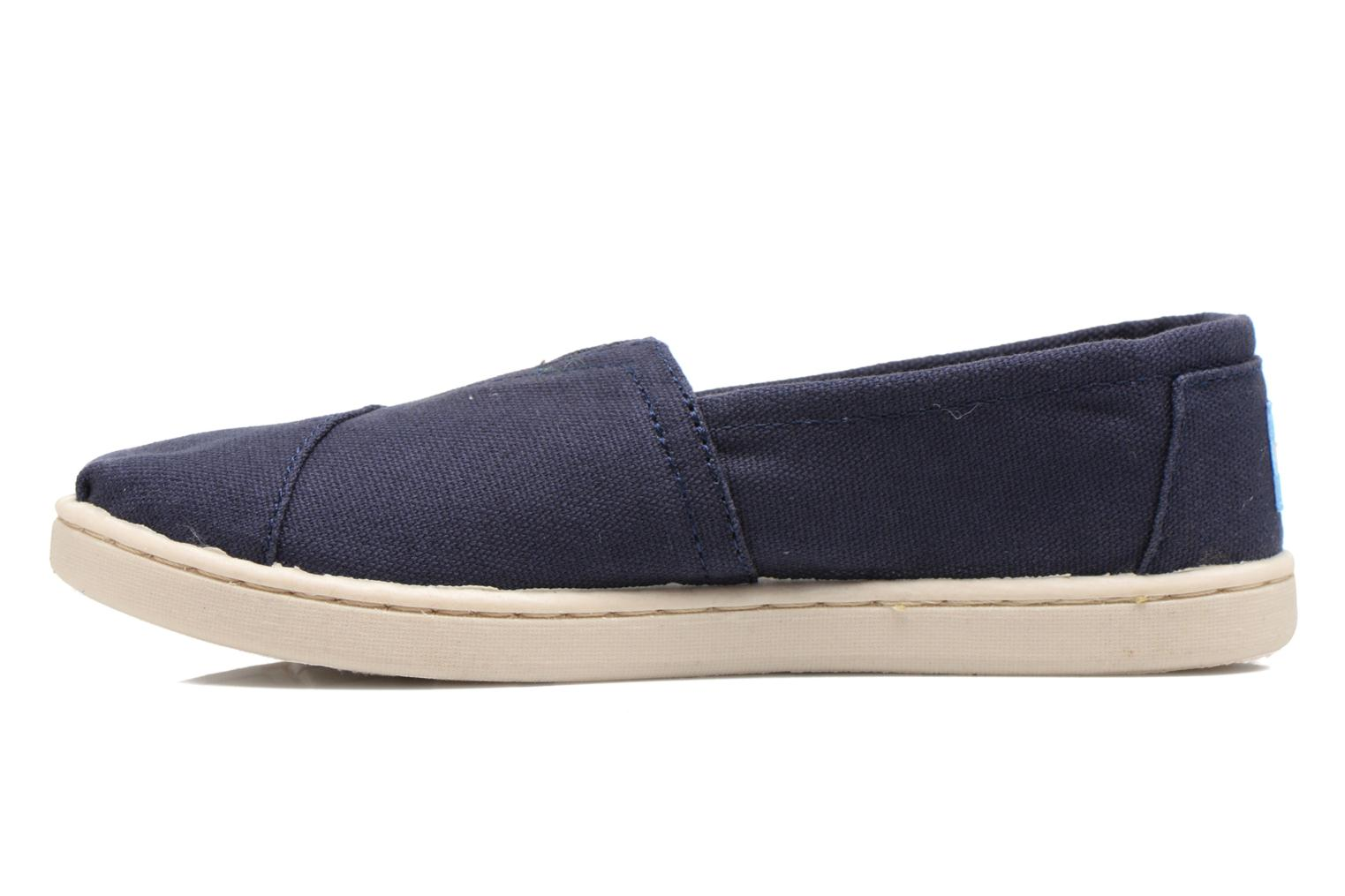 Trainers TOMS Canvas Classics Blue front view