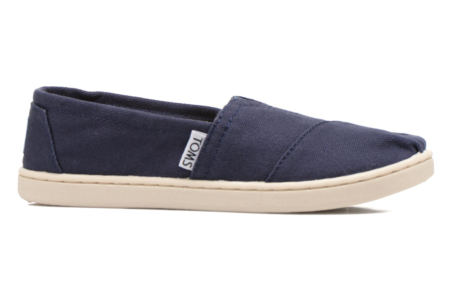 Trainers TOMS Canvas Classics Blue back view