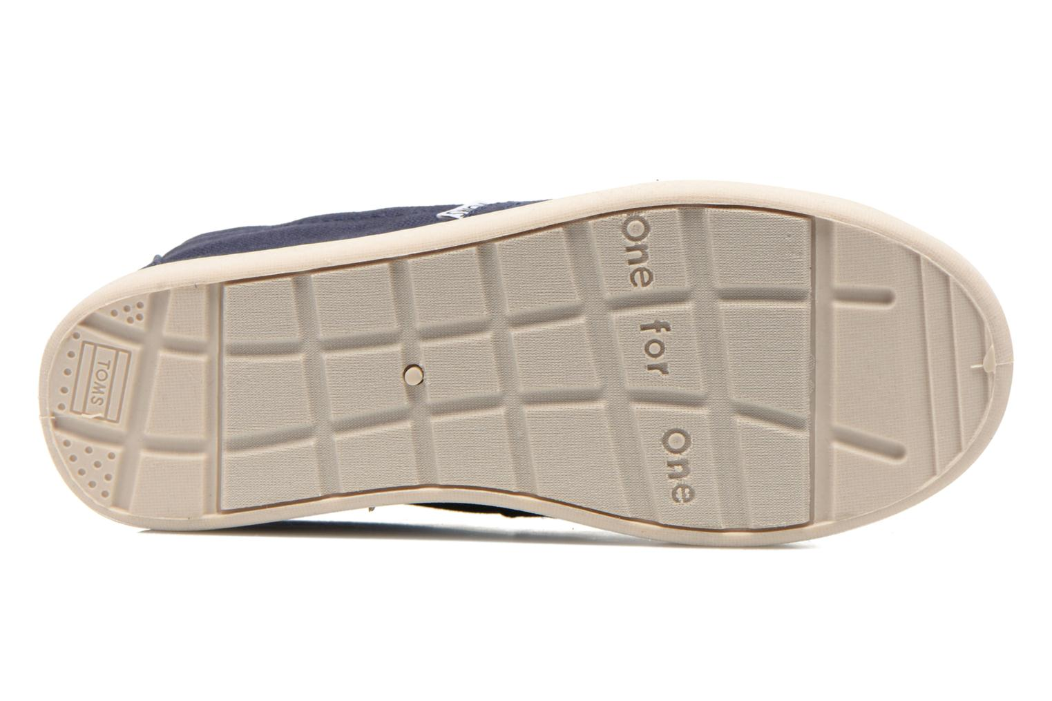 Trainers TOMS Canvas Classics Blue view from above