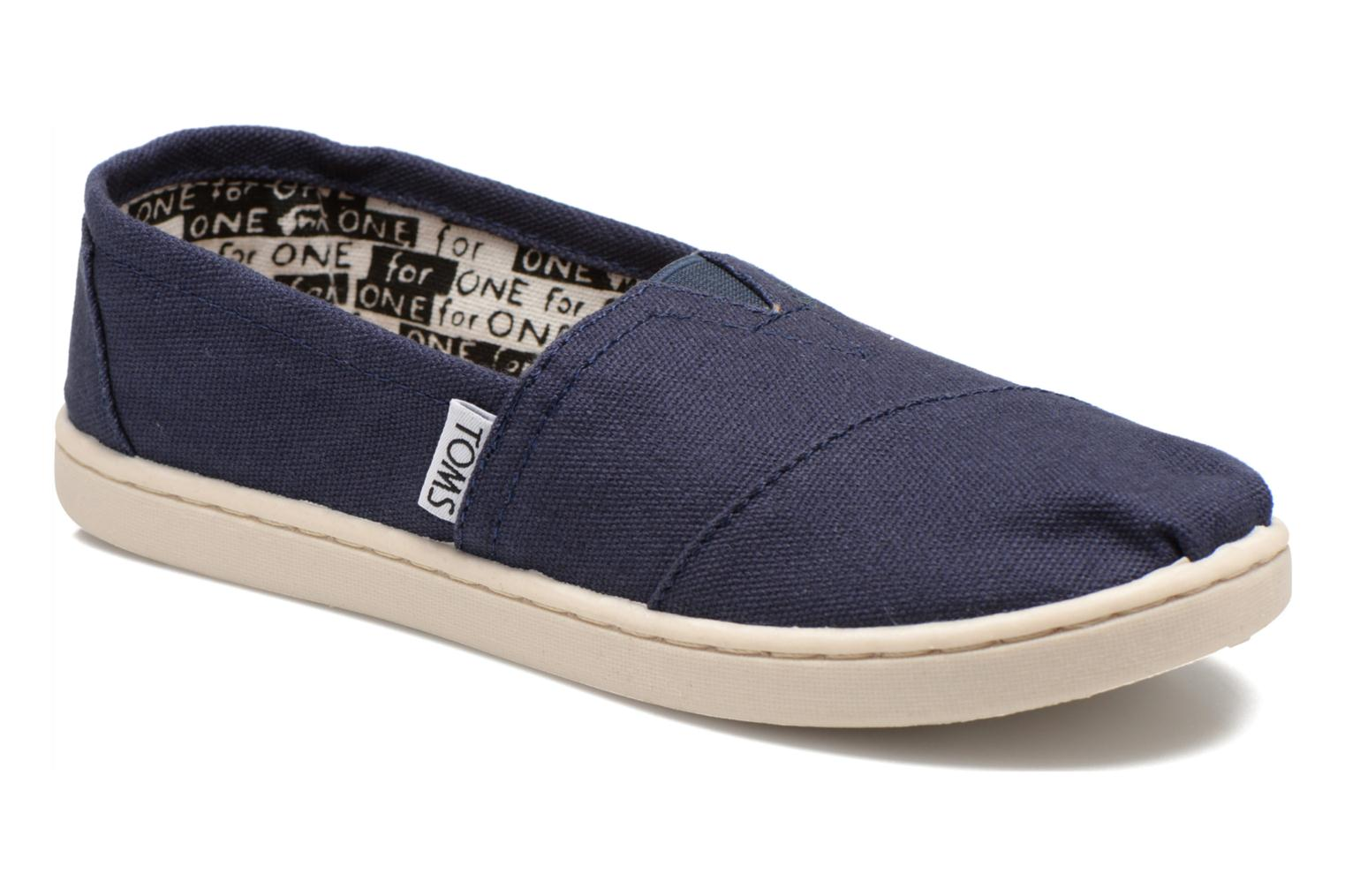 Trainers TOMS Canvas Classics Blue detailed view/ Pair view