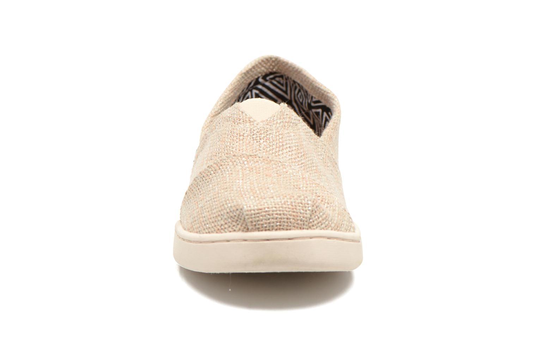 Baskets TOMS Seasonal Classics Beige vue portées chaussures