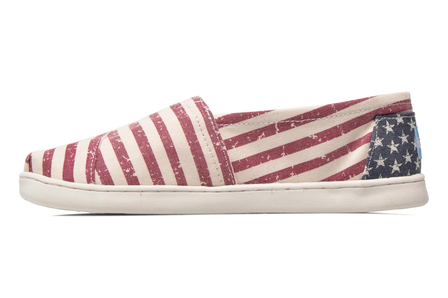 Baskets TOMS Seasonal Classics Multicolore vue face