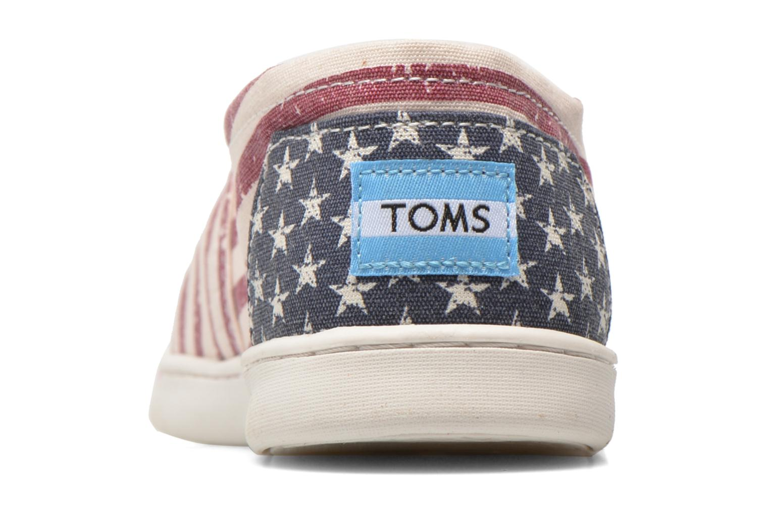 Baskets TOMS Seasonal Classics Multicolore vue droite