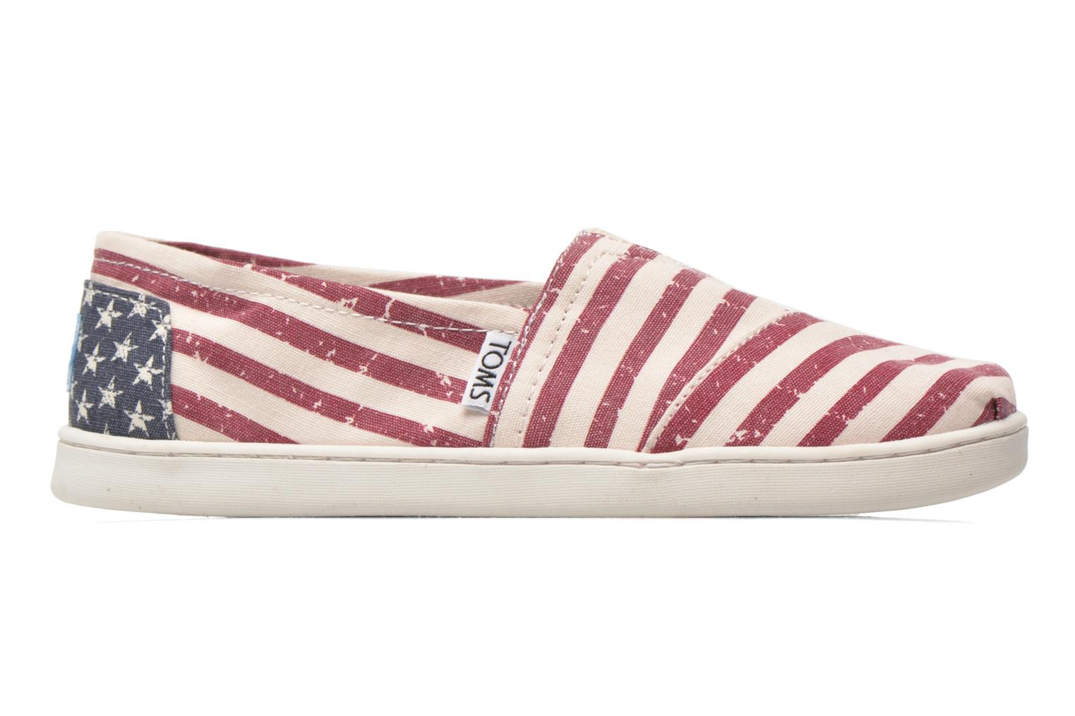 Baskets TOMS Seasonal Classics Multicolore vue derrière