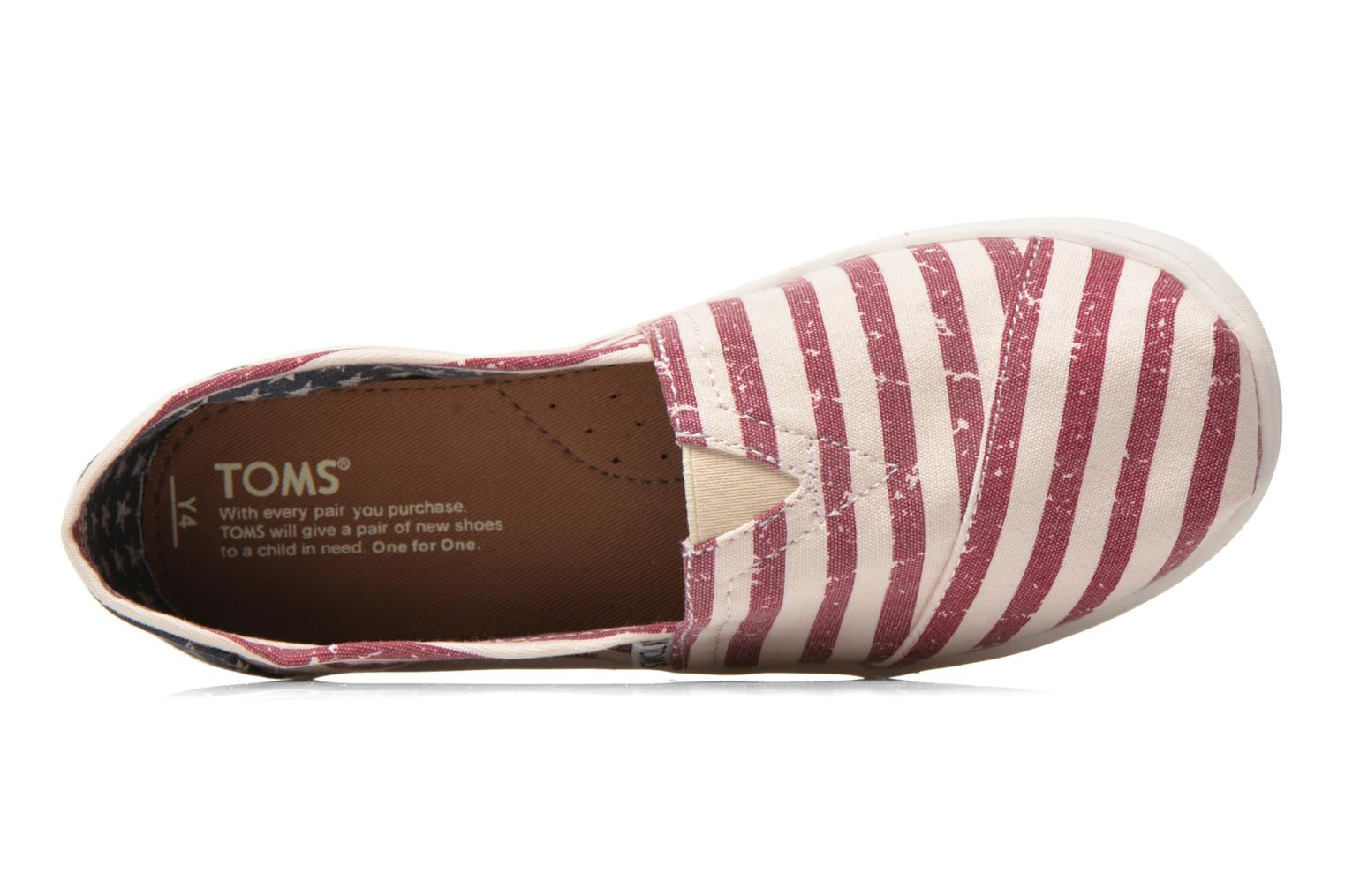 Baskets TOMS Seasonal Classics Multicolore vue gauche