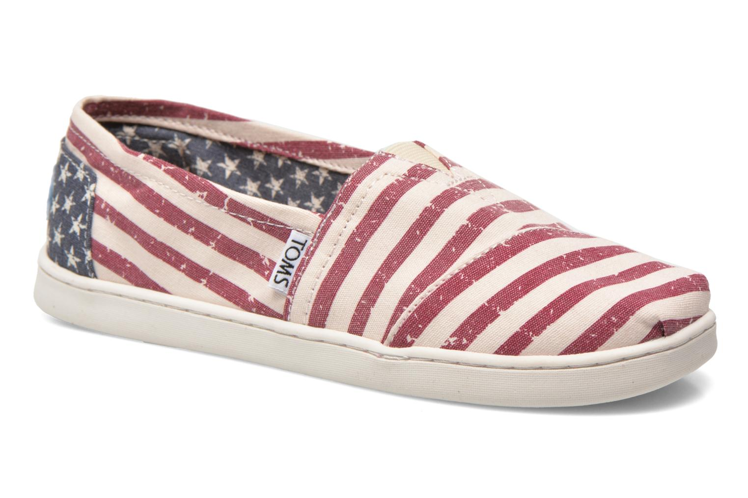 Baskets TOMS Seasonal Classics Multicolore vue détail/paire
