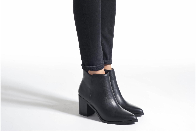 Bottines et boots Buffalo Tida Noir vue bas / vue portée sac